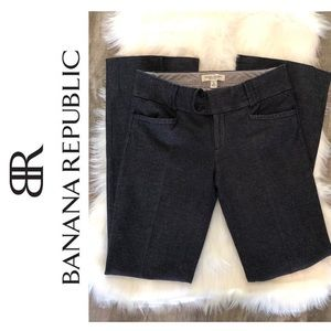Banana Republic Sloan Fit Pants + Blue + 4L